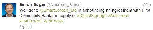 Simon Sugar on Twitter